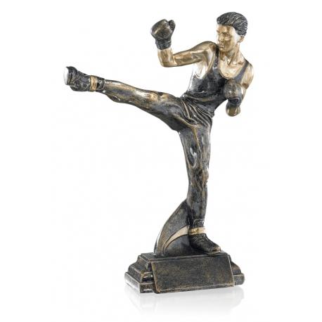 Trophée résine Boxe 27 cm