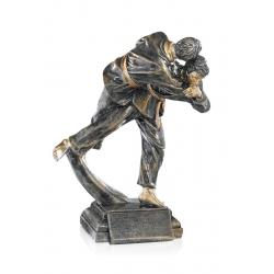 Trophée Résine judo 23 cm