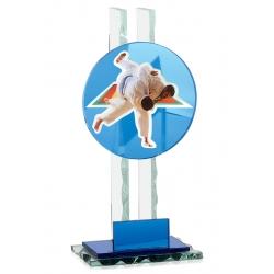 Trophée verre personnalisable 26cm