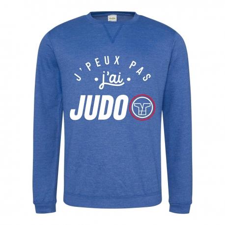 Sweat J'Peux Pas J'ai Judo Cocarde