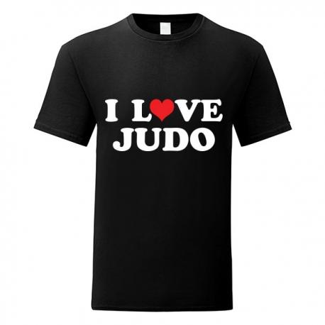Tshirt I LOVE JUDO