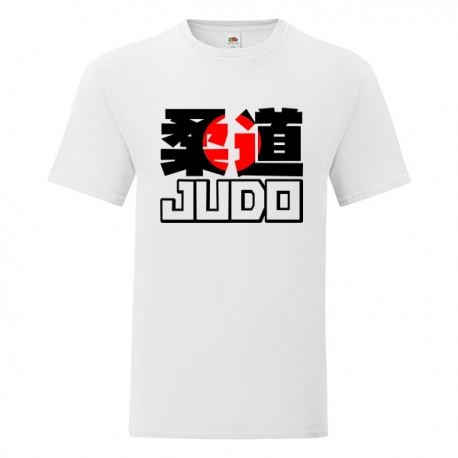 Tshirt Judo Red Kanji