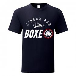 Tshirt j' peux pas j' ai Boxe