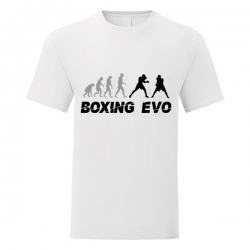 Tshirt Boxe Evolution