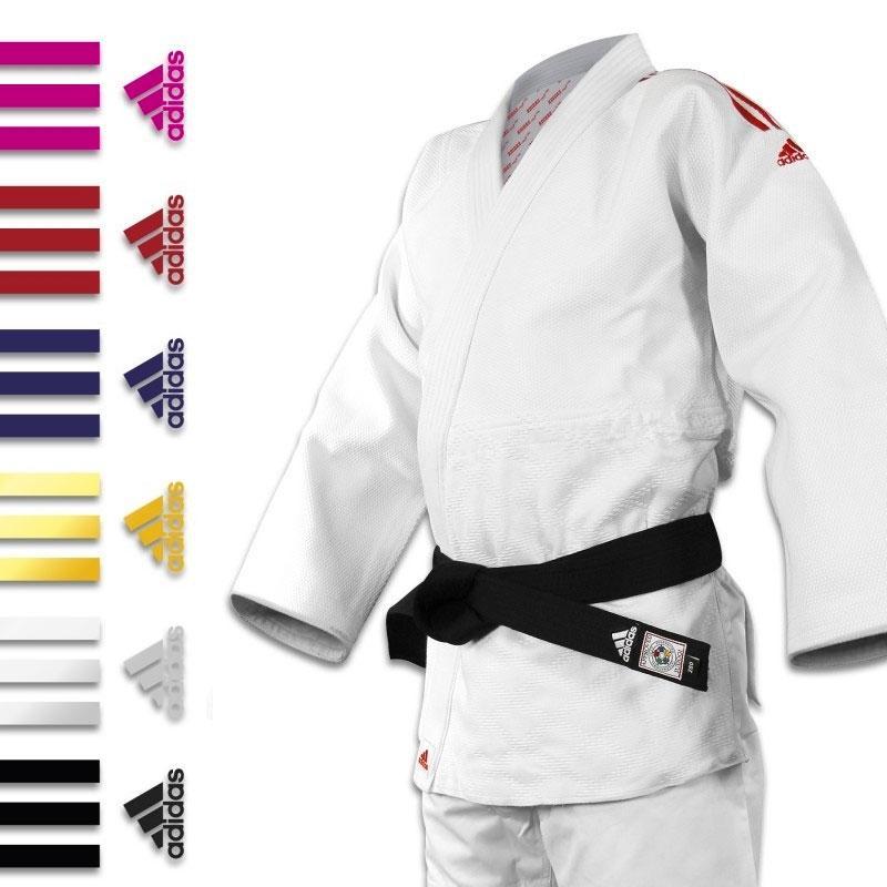 espía Ruina afeitado  kimono judo adidas J690 Quest