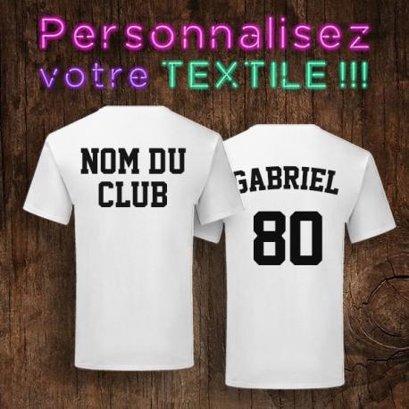 tshirt personnalisé