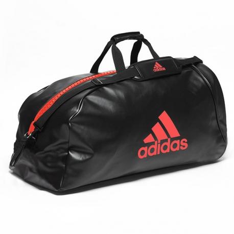 """Sac Adidas entraînement 2 en 1 """"Speed"""" rouge"""