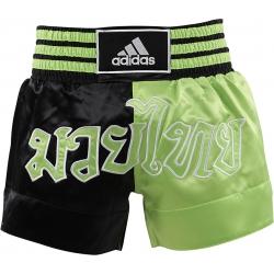 Short Adidas Boxe Thai Noir/Vert