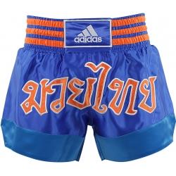 Short Adidas Boxe Thai Bleu
