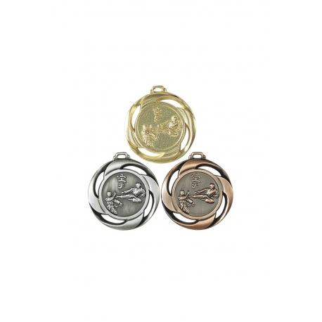 Médaille Karaté NF6 40 mm