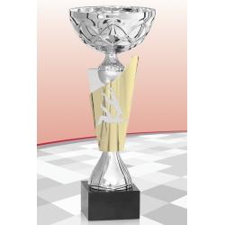 Coupe Economique  Judo Argent 15 cm
