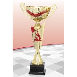 Coupe Premium Judo Rouge 15 cm