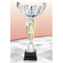 Coupe Premium Judo Argent 15 cm