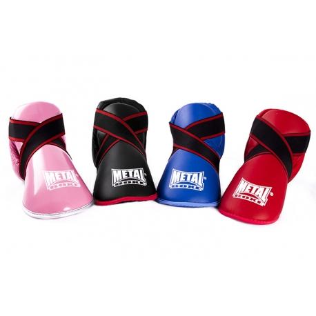 Protège Pied Prima Noir Métal Boxe